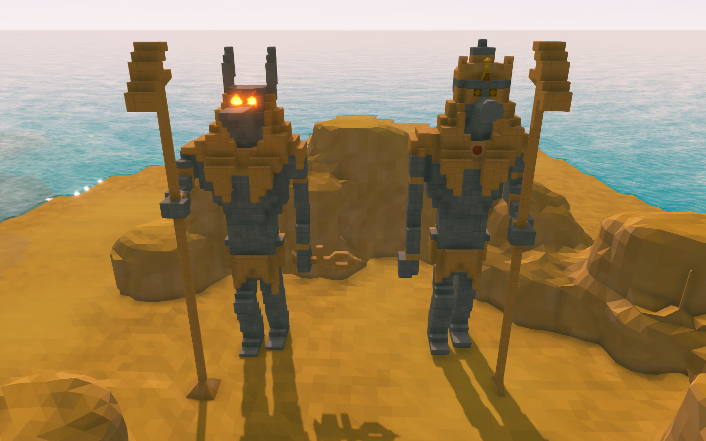 Anubis,Horus and Bob - Community Creations - Ylands