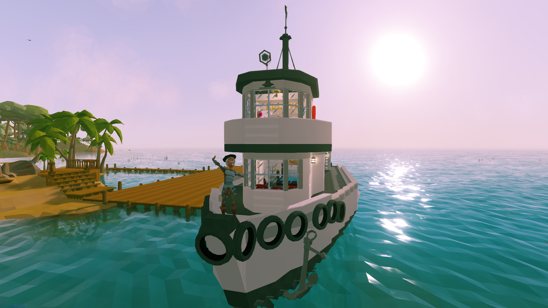 How To Unlock A Door >> Steamer Tug Boat - Community Creations - Ylands