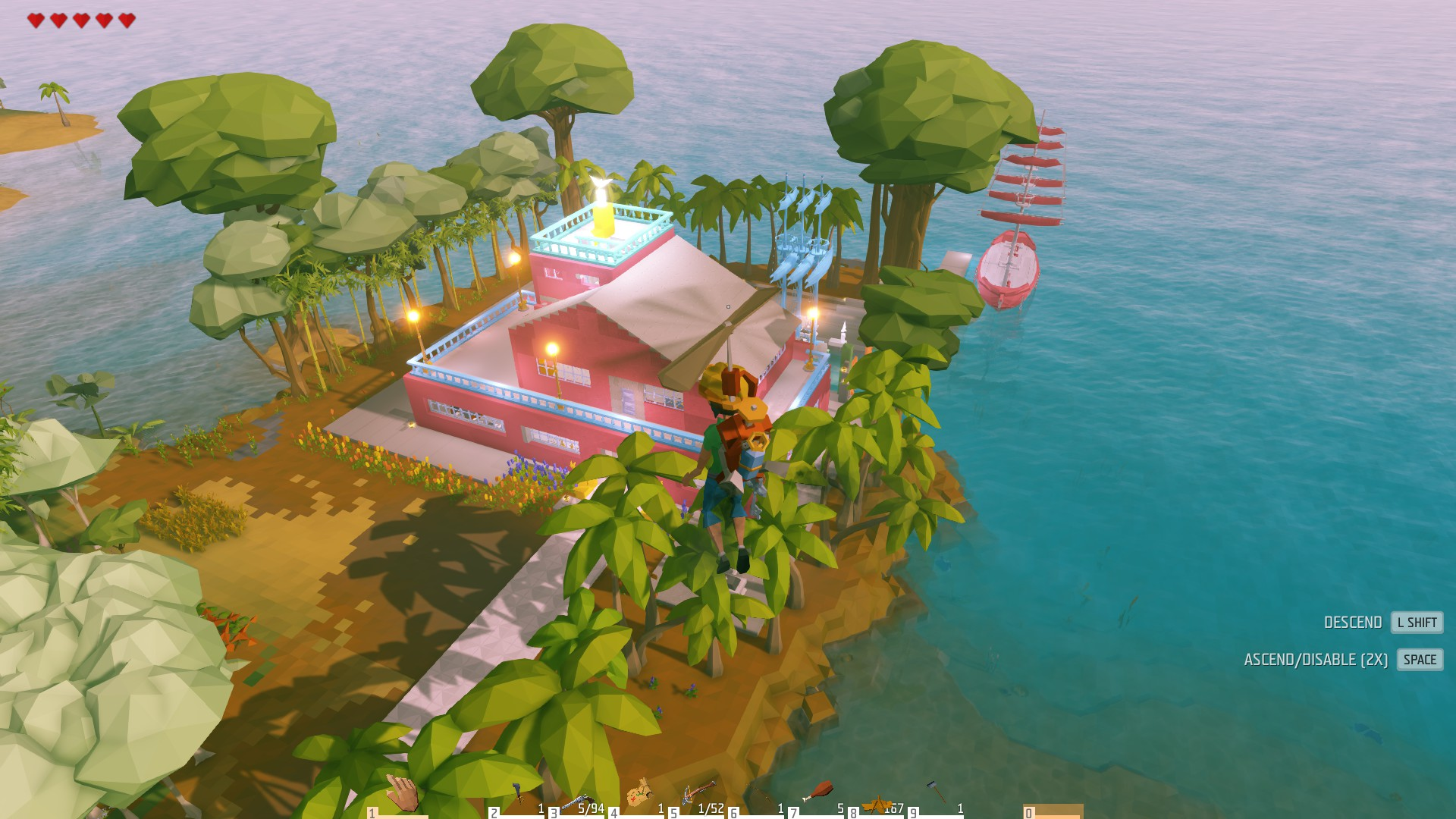 The Watermelon House In Chook Island Community Creations