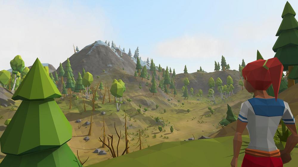 the new terrain generation in effect